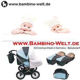 Duo Sore - Zwillingskinderwagen Kinderwagen für Zwillinge Geschwister
