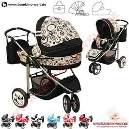 Speedy- Jogger / Dreirad - Kombikinderwagen mit Buggy und Kinderwagenaufsatz
