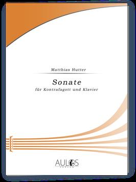 Sonate für Kontrafagott und Klavier op. 28 - Matthias Hutter