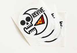 Revive - Pizza Skull Sticker Pack