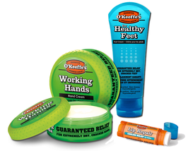O'Keeffe's Working Hands + Healthy Feet + Lip Repair CREME SET