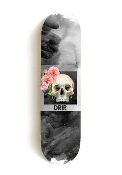 Drip - Rose Skull Deck + Grip