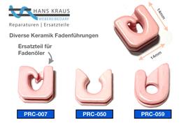 PRC_Keramik Führung, Ceramic-Guide, Fadenführung für z.B. Fadenöler, Fadenbremsen