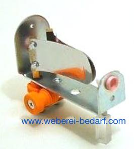 Fadenbremse mit Bremsblätter einfache Ausführung.