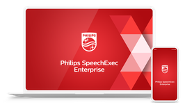 Philips Enterprise,  LFH7350, Dicteer- en transcriptiesoftware