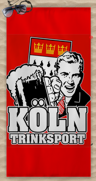 Köln Trinksport Strandtuch