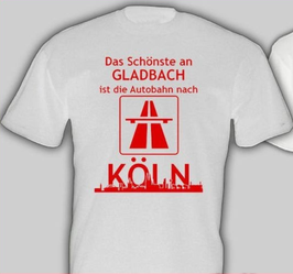 Anti Gladbach Autobahn Shirt