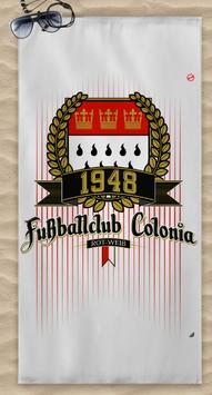 Köln 1948 Fussballclub Colonia Strandtuch