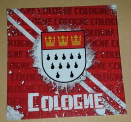 150 Aufkleber Köln Cologne Spezial