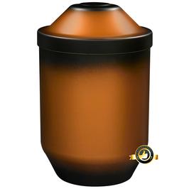 Bio Urne Kupferfarben brüniert gefärbt