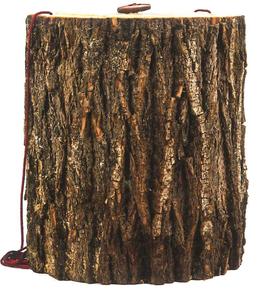 Holz Urne Baumstamm in Birke, Erle oder Pappel