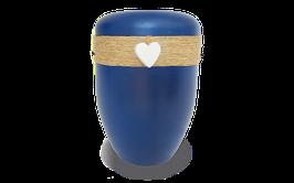 100 % Bio Urne mit Jutekordel handgewickelt Herz