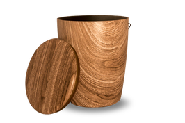 100 % Bio Urne geniale Holzoptik jede Urne ist ein Unikat