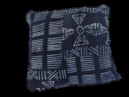 Mud Cloth Pillow Indigo No. 2