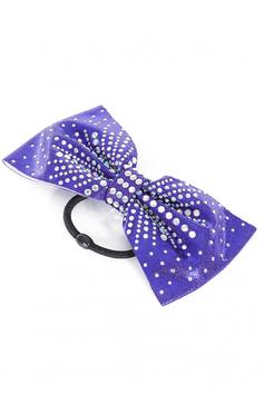 Haarschleife violett