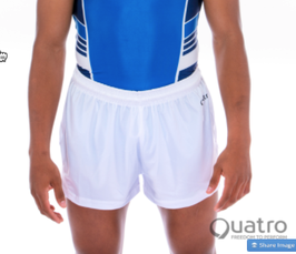 Quatro - Boys Shorts weiss