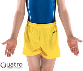 Quatro - Boys Shorts gelb