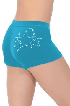 The Zone - Shorts Samt Galaxy türkis