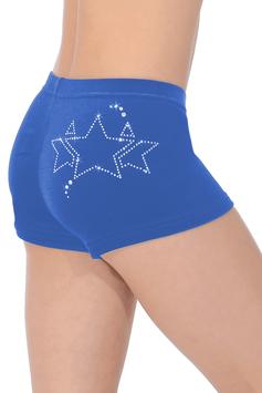 The Zone - Shorts Samt Galaxy königsblau