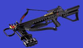 175 lbs Recurve-Armbrust: MK XB-21 schwarz, neu mit sehr viel Zubehör