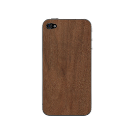 Echtholzcover iPhone 4/4s (Nussbaum)