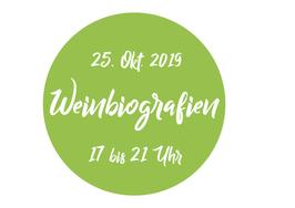 Eintrittskarte WeinBioGrafien 2019