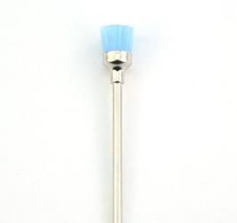 Nagelhautbürste Bit Rund Blau