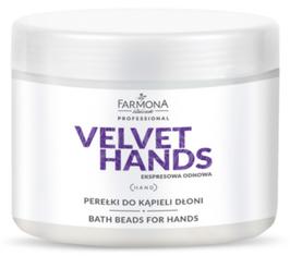 Farmona VELVET HANDS Badeperlen für die Handpflege 380g