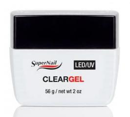 SUPER NAIL Clear Gel LED/UV 56g