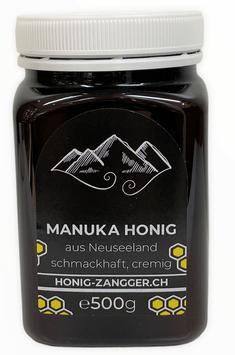 Manuka Honig Zangger: neu MG 100+