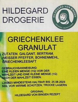 Posch Hildegard Griechenklee Granulat