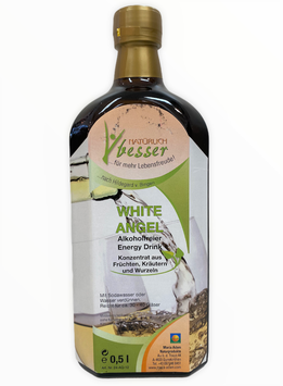 Maria Adam White Angel Energy Drink ohne Alkohol