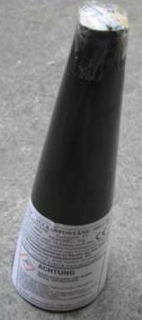 Pyrotrade - Silbervulkan 60Sekunden (Bühnenfeuerwerk)