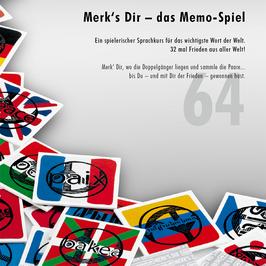 Merk's Dir – das Frieden-Memo-Spiel