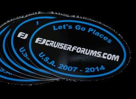 """FJ Forum Blue Oval 4"""""""