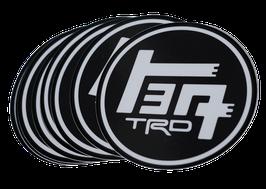 """Black TEQ / TRD Premium 4"""" Decal"""