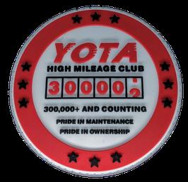 """2019 300K High Miles Patch PVC 3D Edition 3"""""""