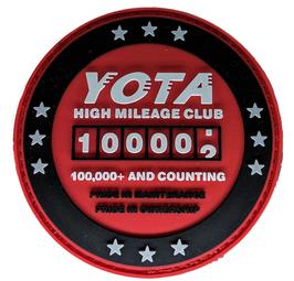 """2019 100K High Miles Patch PVC 3D Edition 3"""""""