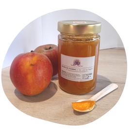 Gelée Extra de pommes & thé vert au safran - 270ml