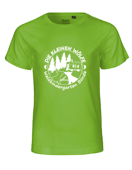 T-Shirt - Farbe: lime