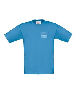 T-Shirt - Farbe: azure