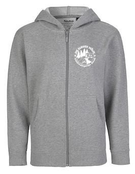 Zip-Hoodie Erwachsene - Farbe: grau