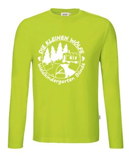 Longsleeve T-Shirt - Farbe: kiwi