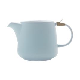 Teekanne 0.6 L hellblau. Maxwell Williams.