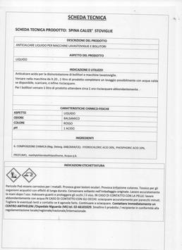 SPINA DETERSIVO LAVASTOVIGLIE EXSTRA STOVIIGLIE litri 5