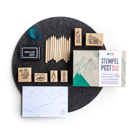 Stempel-Post No. 14 / Berge