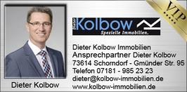 KOLBOW DIETER - Maklerempfehlung Schorndorf
