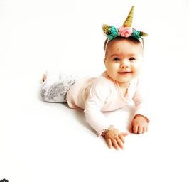 Unicorn hoofdbandje baby