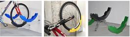 Fahrradhalter Gebogen Fahrradträger aus Aluminium-Druckguss H-26