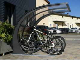 Fahrradüberdachung Modell Luganino